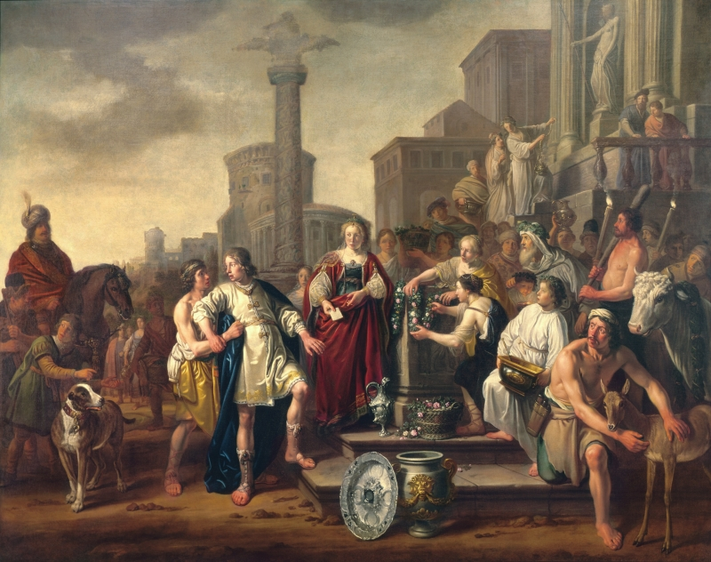 The Quarrel of Orestes and Pylades alternate title: Iphigenia, Orestes and Pylades in Tauris