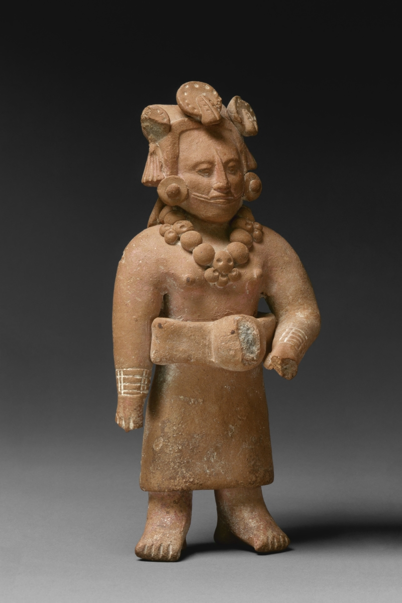 Jaina-style Figurine of a Female Ballplayer