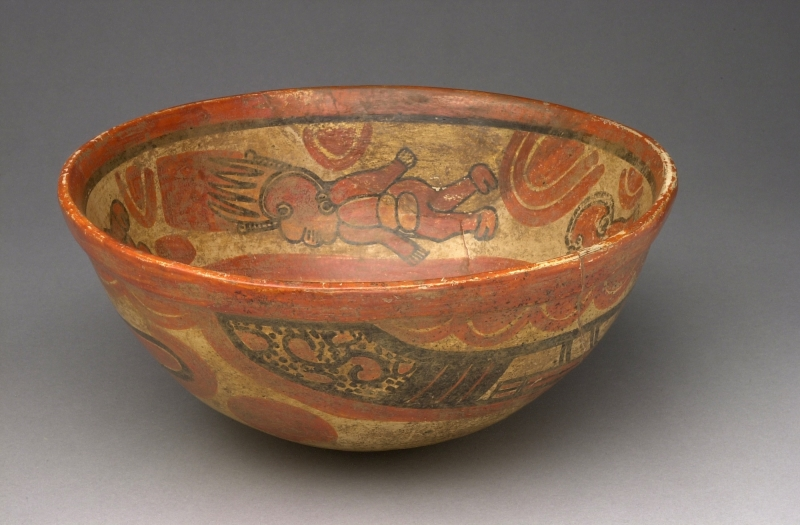 Bowl with Painted Figures