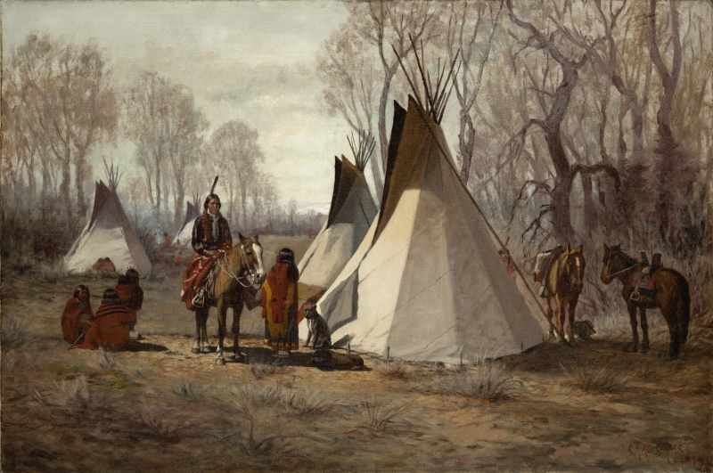 Uncompahgre Ute Indian Camp