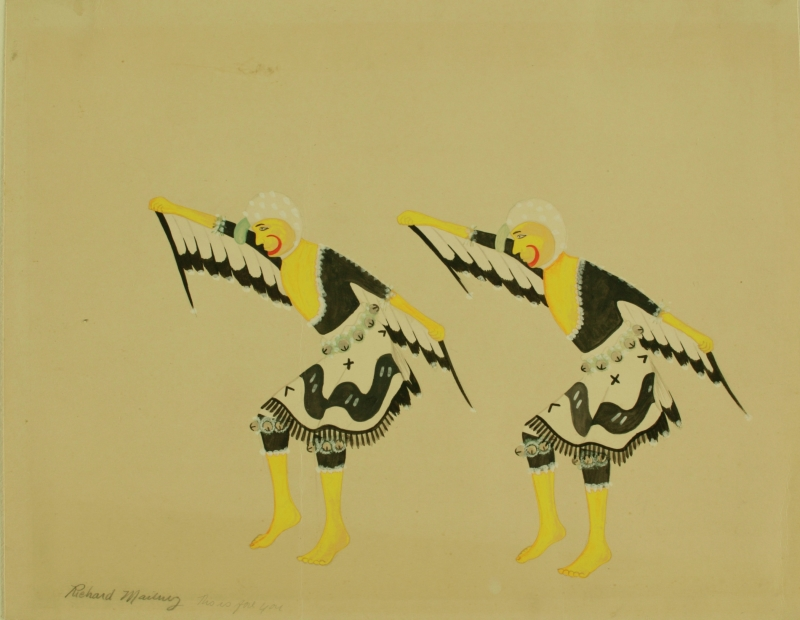 Pair of Eagle Dancers