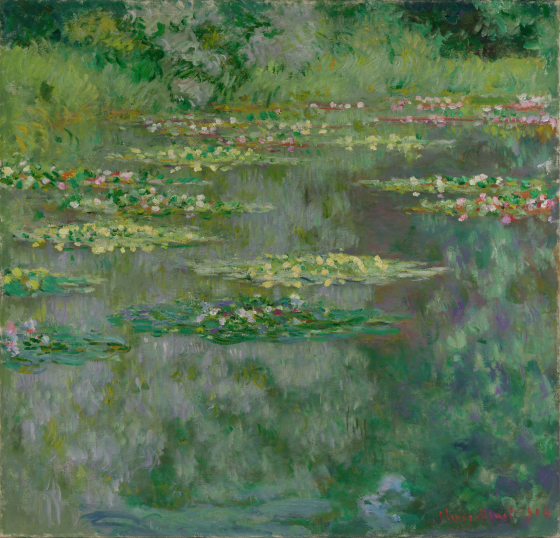 Waterlilies or The Water Lily Pond (Nymphéas)