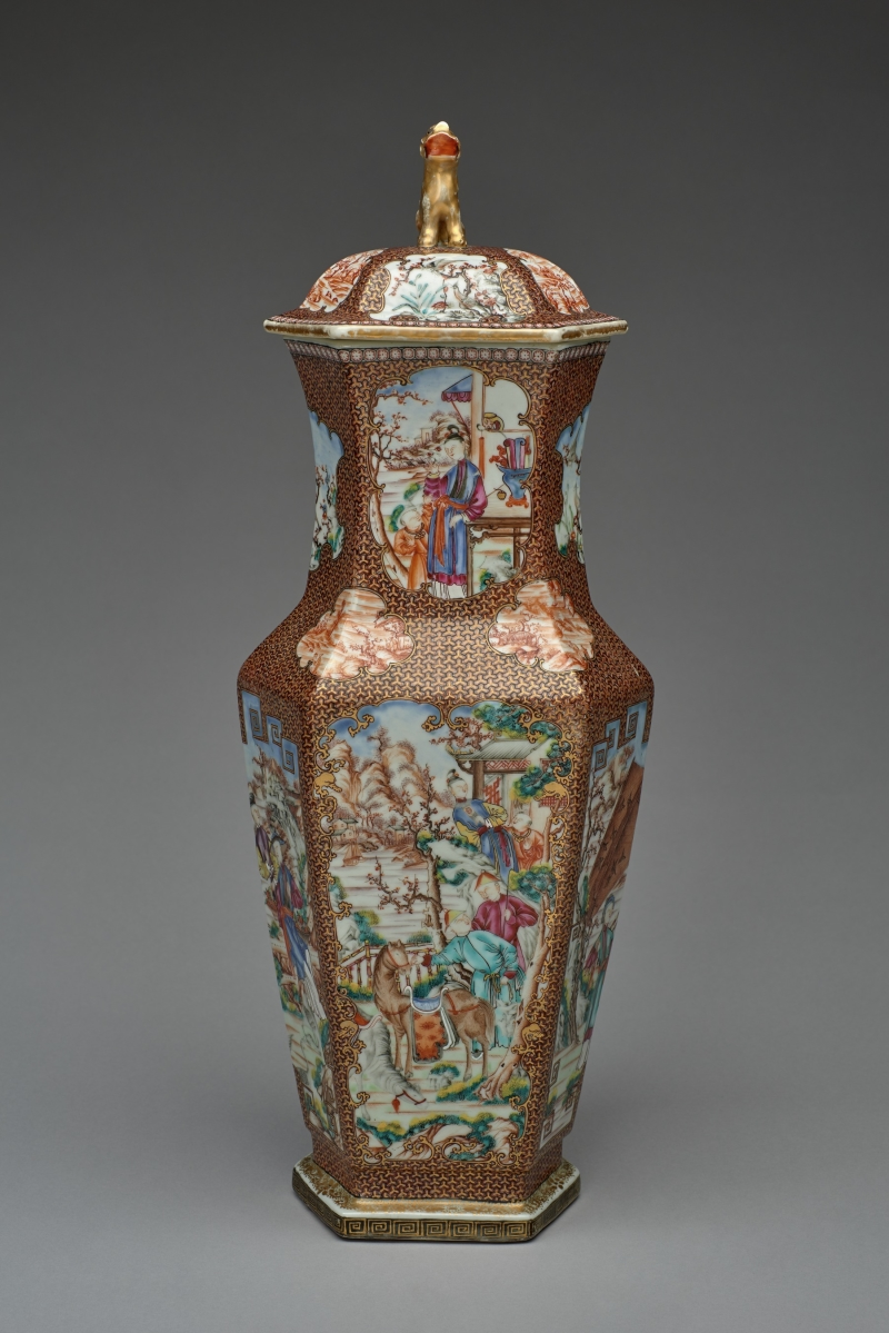 vase; stand