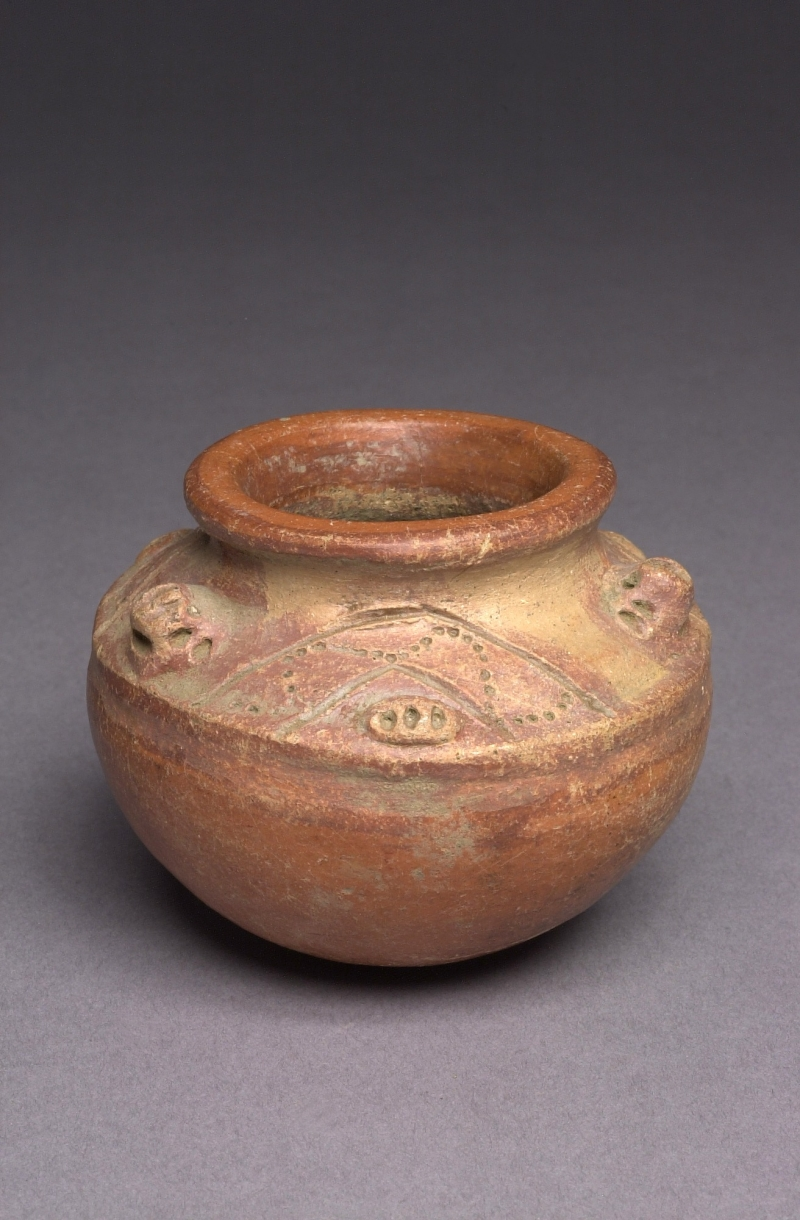 Jar with Modeled and Incised Decoration