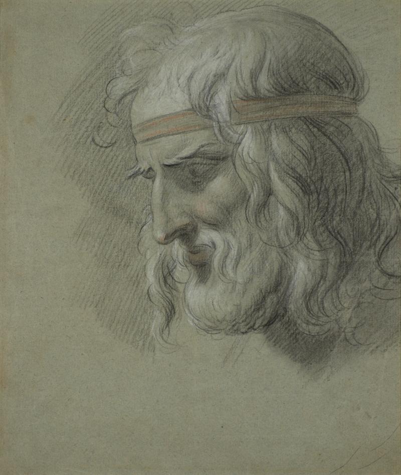 Recto: God of Medicine; Verso: Nude Study