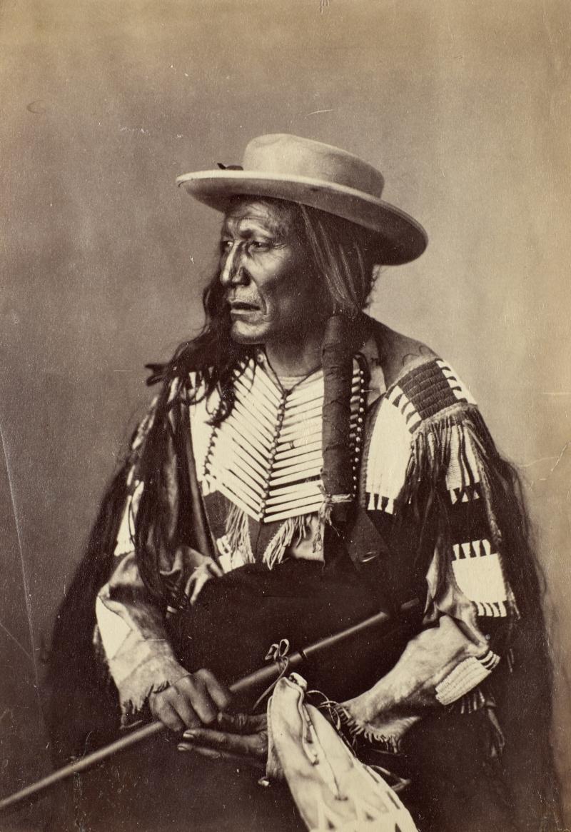 Shunk-To-Ke-Cha-Han-Ska or Sunktokeca Hanska (Tall Wolf or High Wolf), Oglala Lakota