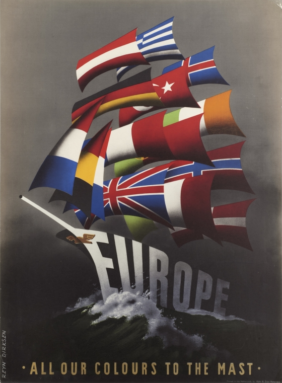 Europe: All Our Colours to the Mast