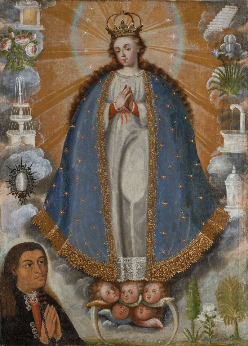 Immaculate Conception with Indian Donor