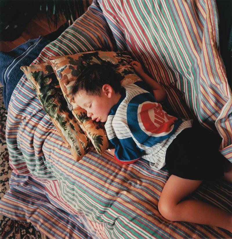 Walker Sleeping, Boulder