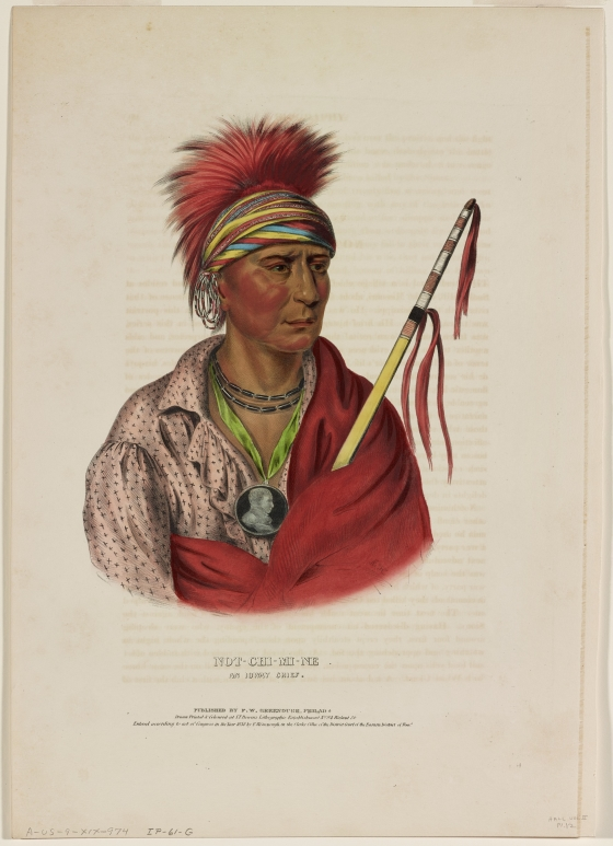 Not-Chi-Mi-Me, No Heart, An Ioway Chief