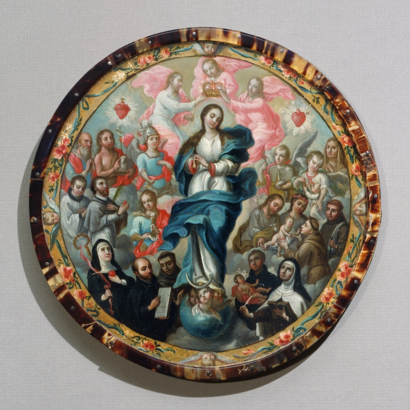 Coronation of the Virgin with Saints (nun's badge)