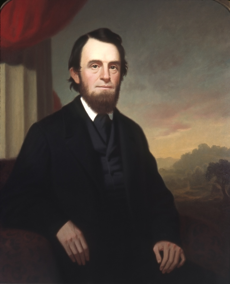 Portrait of Preston Roberts