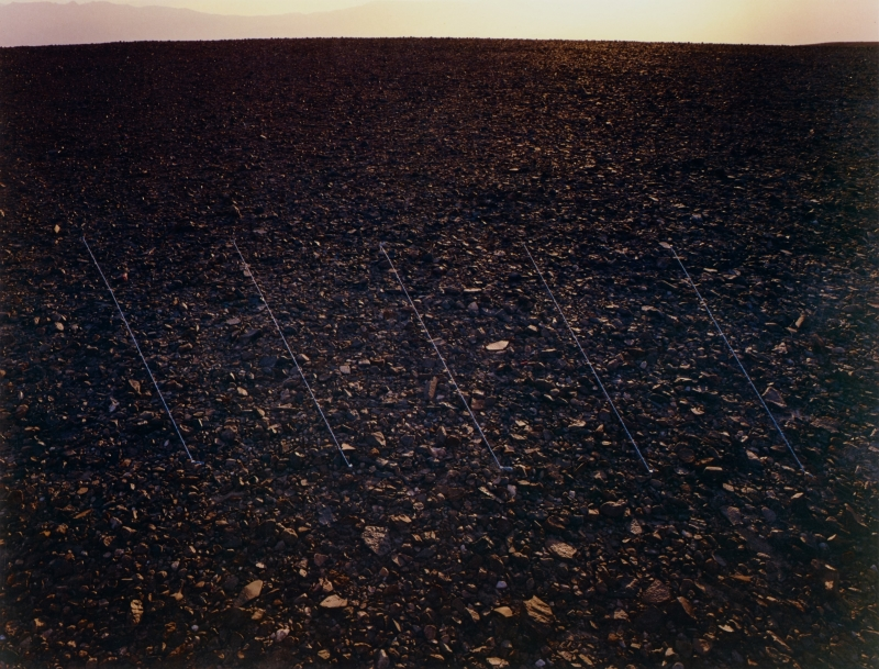 Black Rock Hill with Diagonal Lines, Death Valley, California