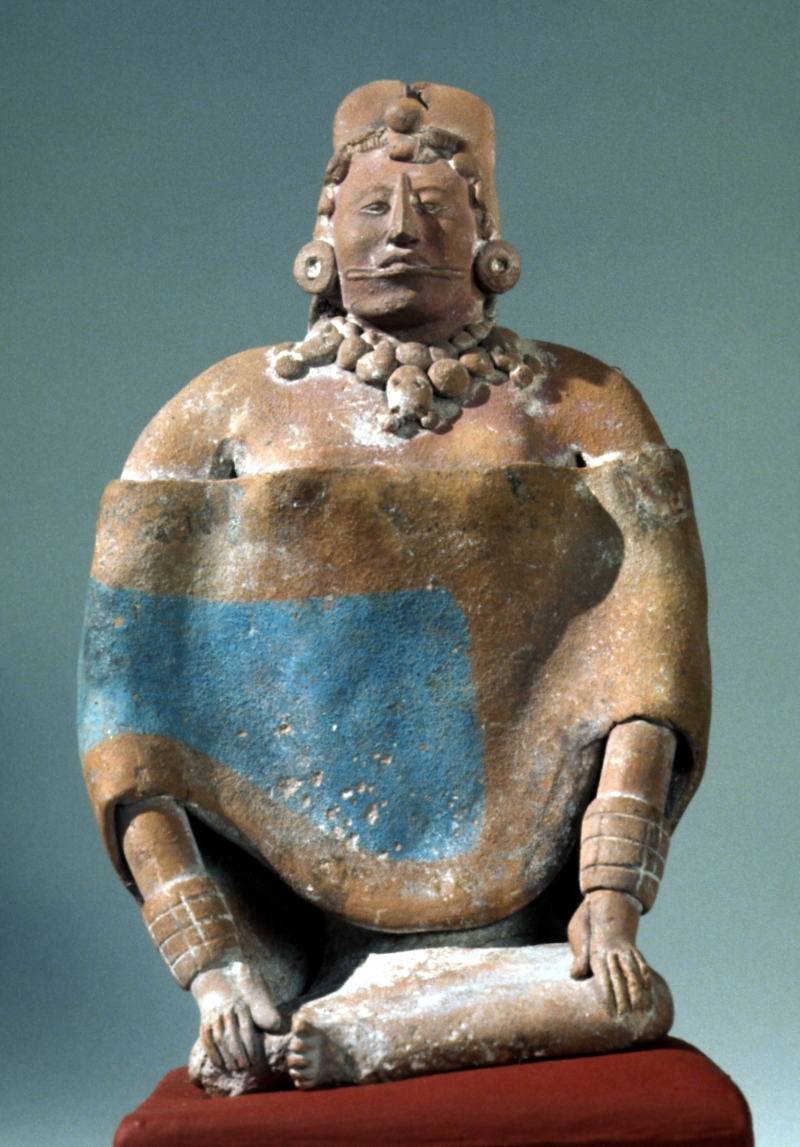 Jaina-Style Whistle Figurine of a Seated Woman
