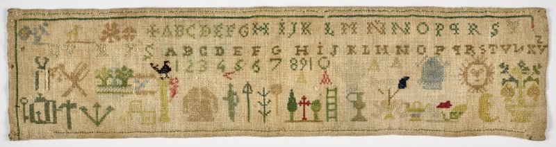 Needlework Sampler (Dechado)