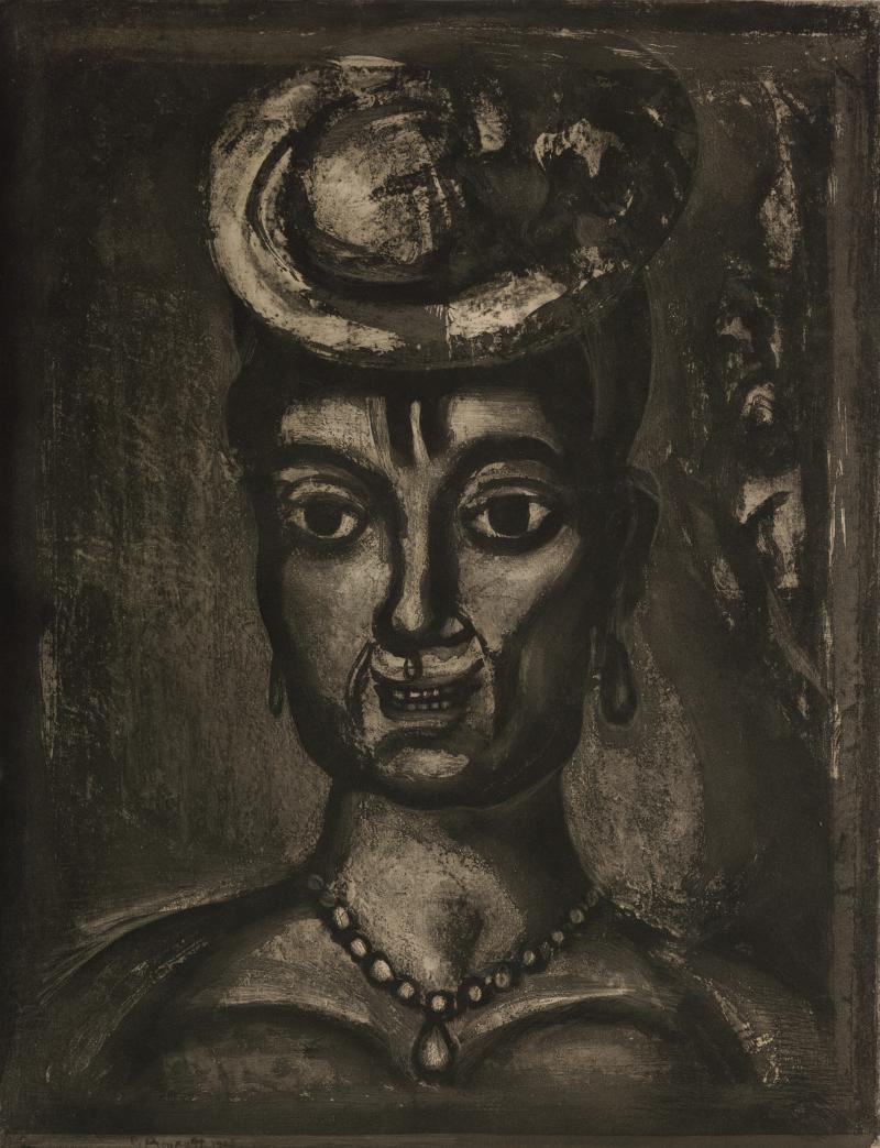 Femme Affranchie, à Quatorze Heures, Chante Midi; from Miserere et Guerre Series
