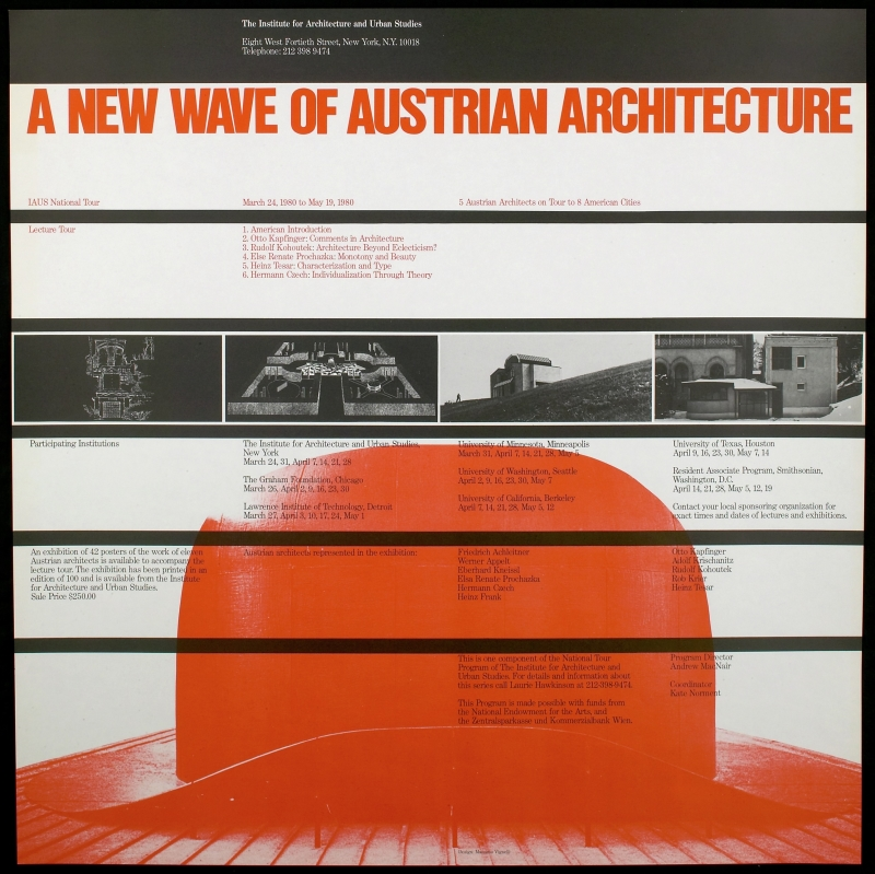 Institute for Architecture and Urban Studies: A New Wave of Austrian Architecture