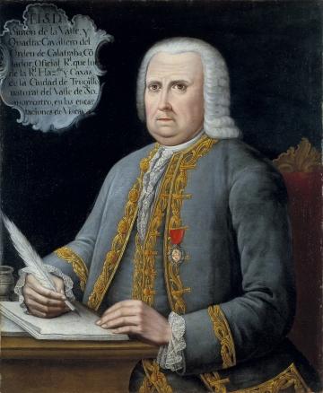 Portrait of Simon de la Valle