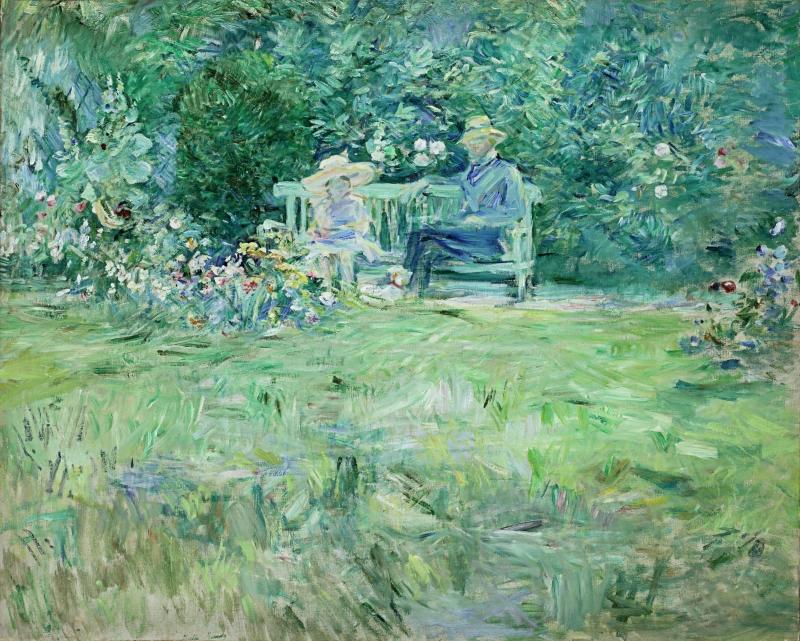 The Lesson in the Garden (La Leçon au jardin)