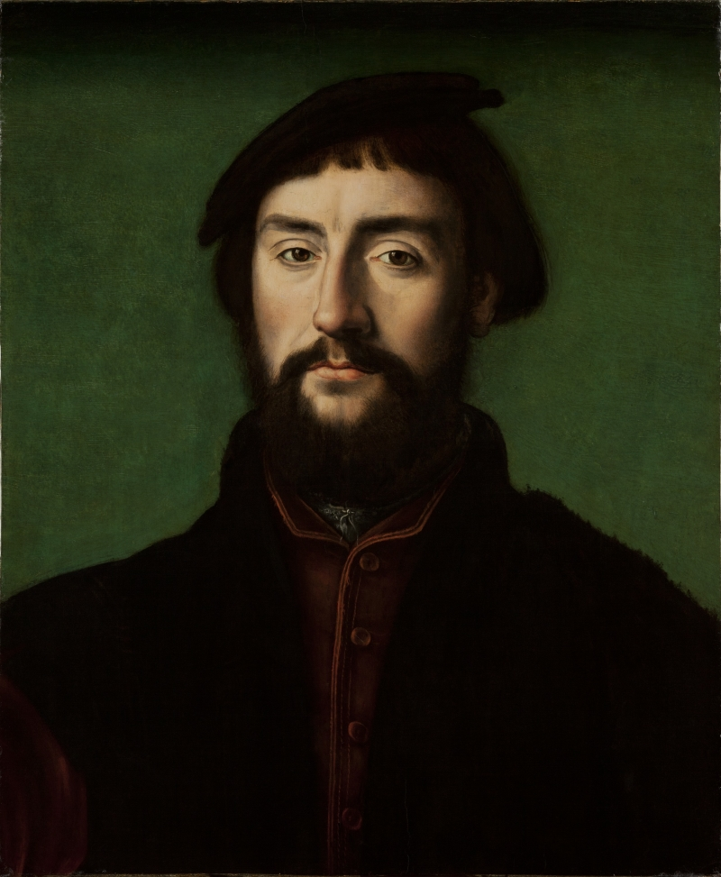 Portrait of Jean de Dinteville (French Ambassador to the court of Henry VIII)