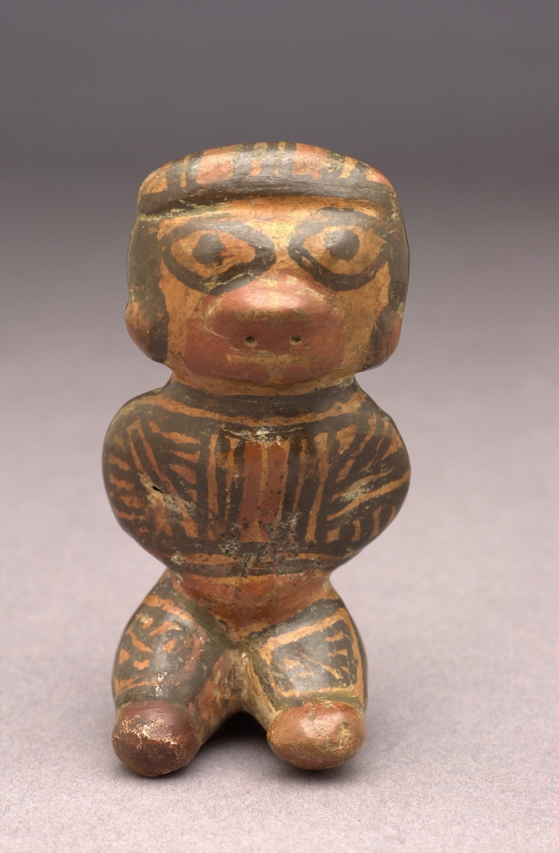 Seated Female Figurine Pendant