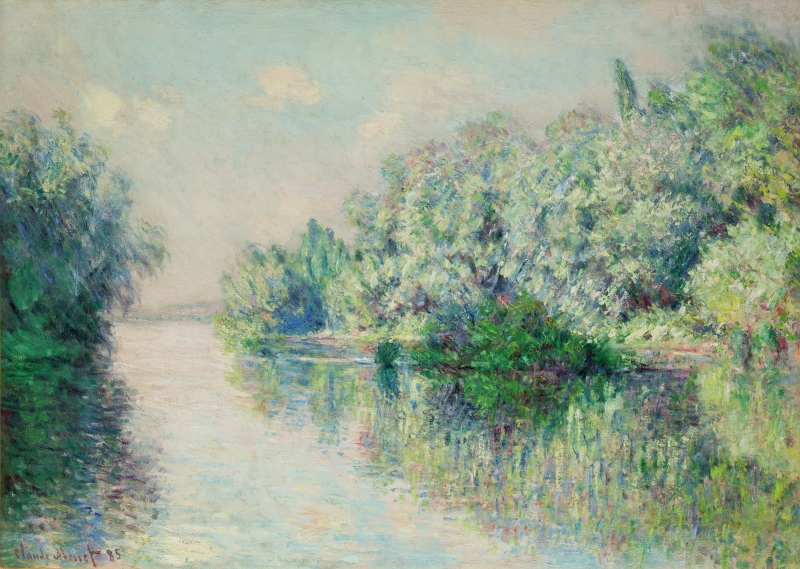 The Seine near Giverny (La Seine près de Giverny)