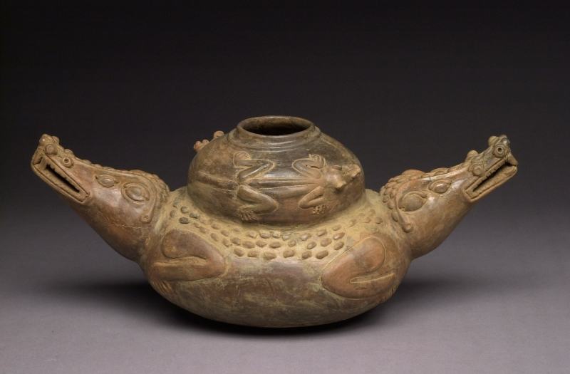 Double-headed Crocodile Jar