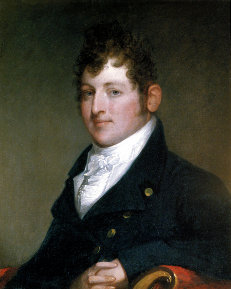 Portrait of Commodore Isaac Hull, USN