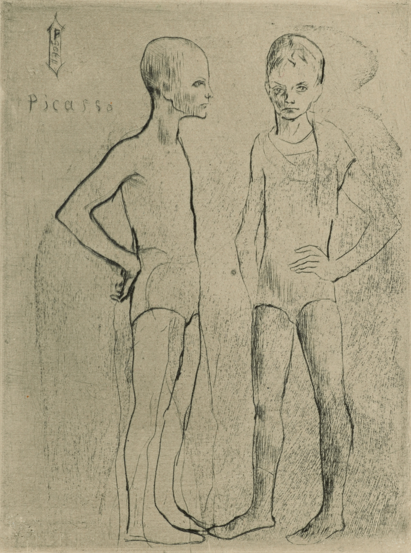 Two Boys (Two Acrobats)