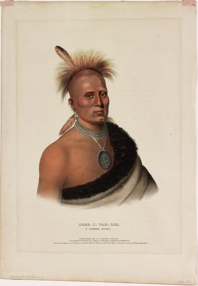 Shar-I-Tar-Ish, A Pawnee Chief