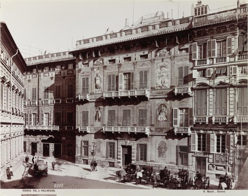 Genova. Pal[azzo] L. Pallavicini