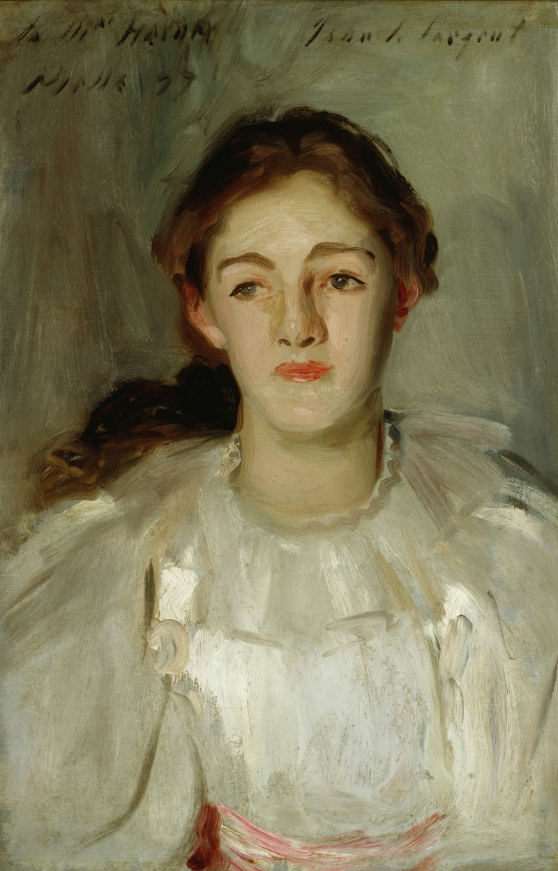 Portrait of Mrs. George Lambton (nee Miss C. Horner)