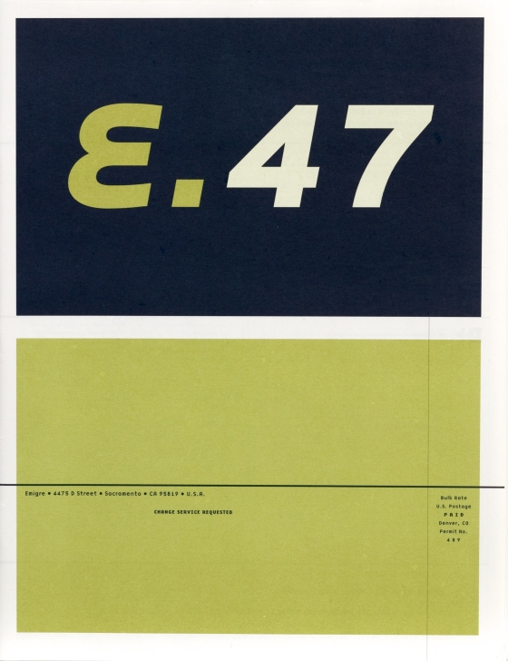 Emigre 47: Relocating Design