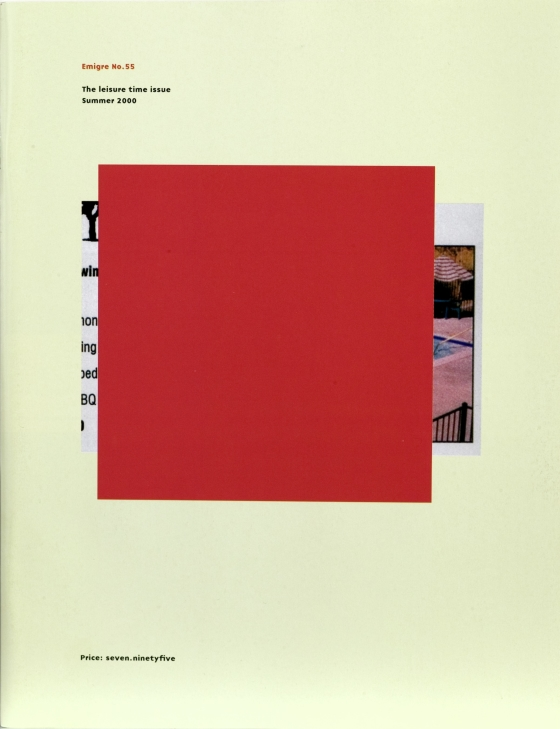 Emigre 55: The Leisure Time Issue