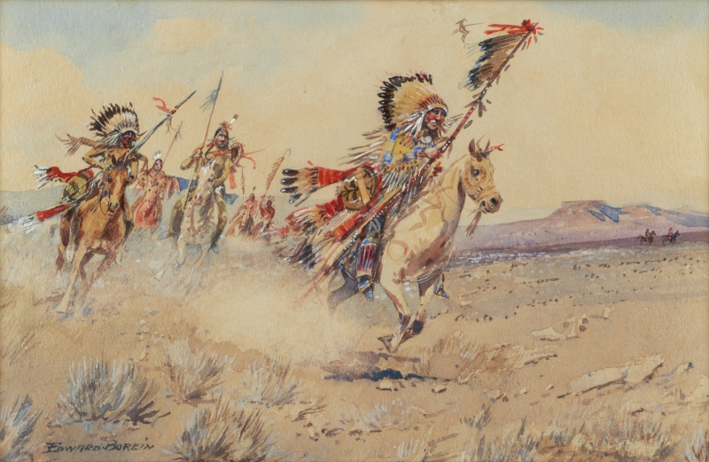 Untitled (Indian Warriors)