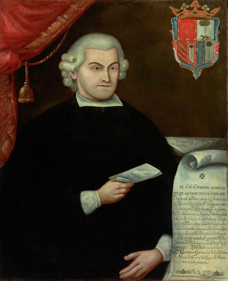 Portrait of Don José Bernardo de Asteguieta y Díaz de Sarralde (1749 - 1812)