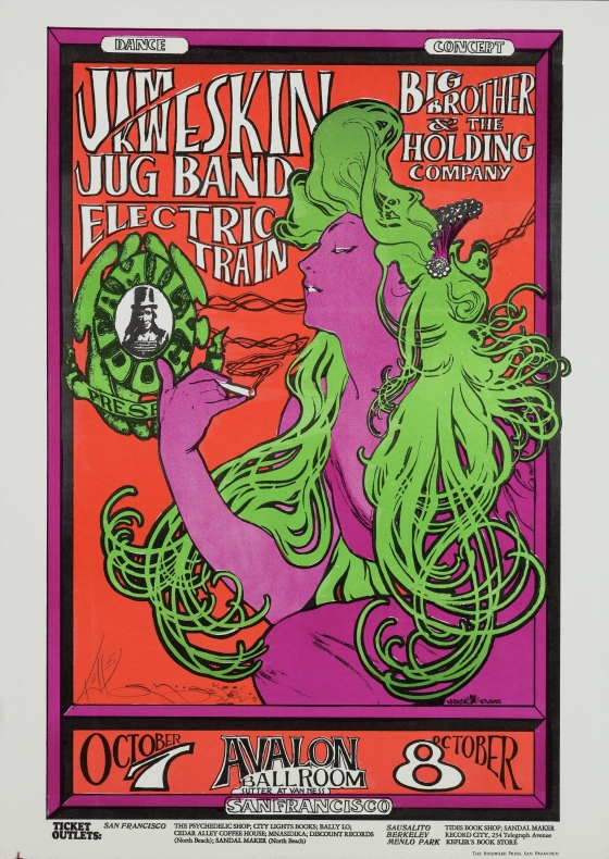 Girl with the Green Hair; Jim Kweskin Jug Band, Big Brother and the Holding Company, Electric Train; Avalon Ballroom