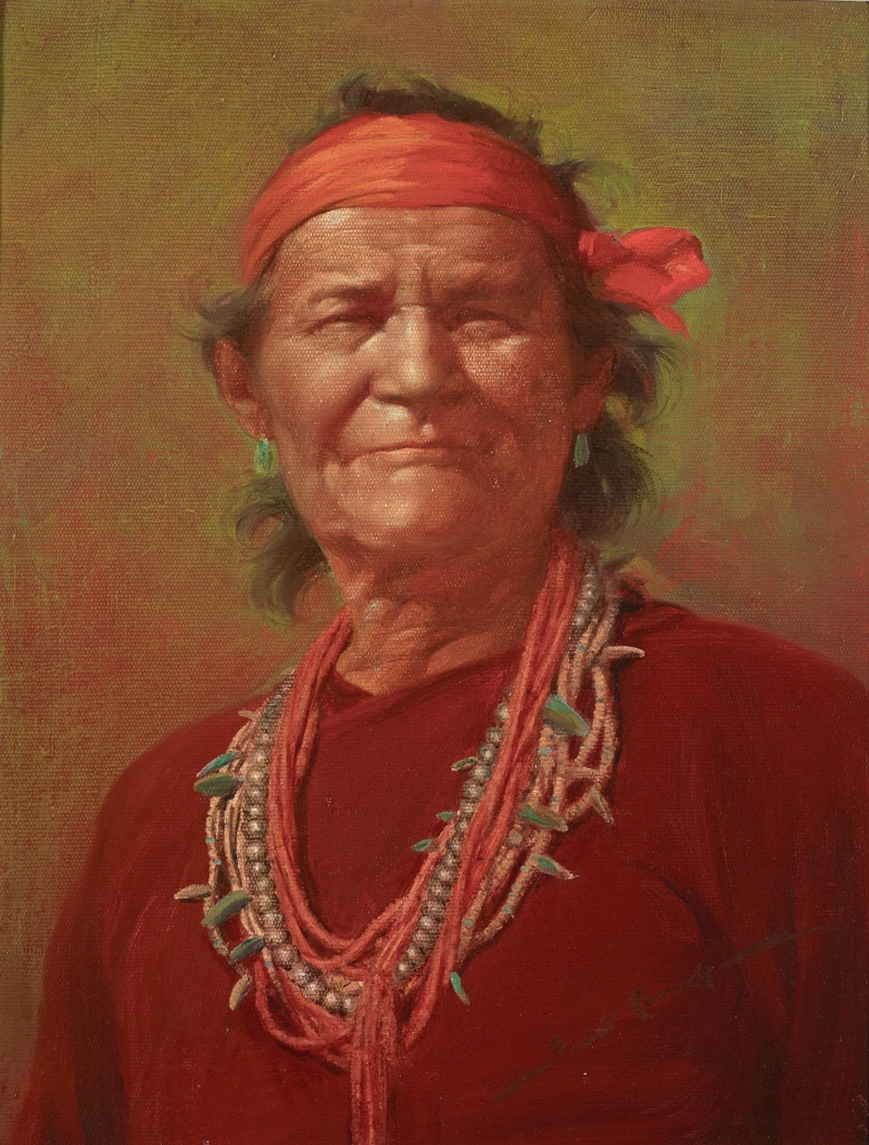 Indian Portrait (Navajo Medicine Man)