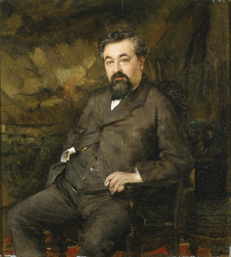 Portrait of Joseph Liouville
