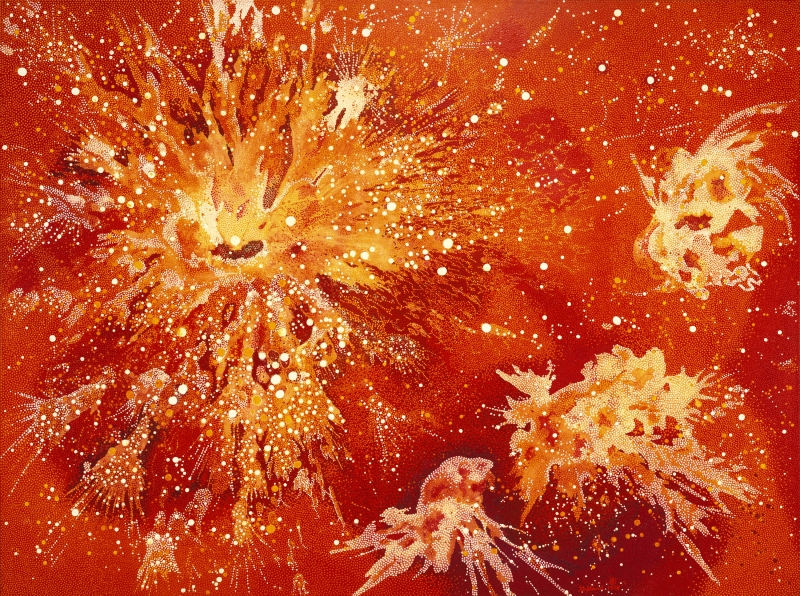 Explosions of Energy Near the Sun 50 Billion Years B.C.
