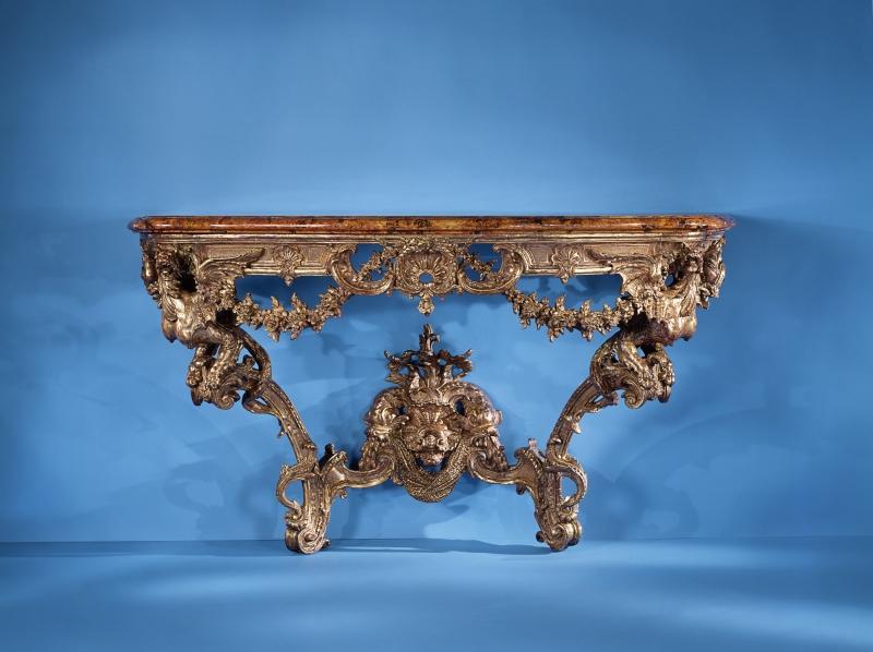 Baroque & Rococo Console Table