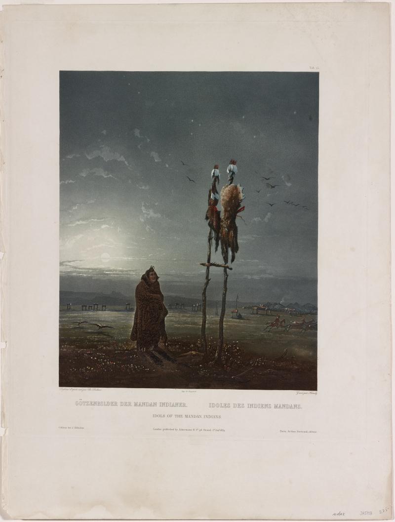 Idols of the Mandan Indians