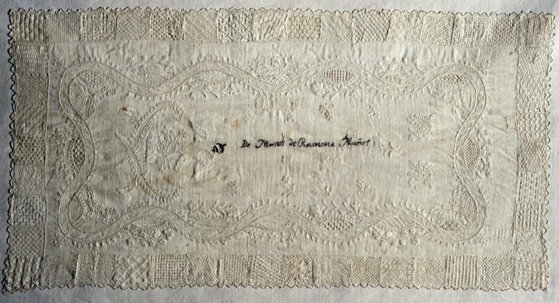 Needlework Sampler (Dechado)