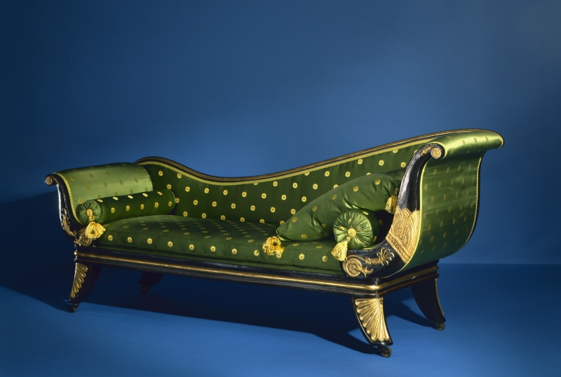 Neoclassical Chaise Longue