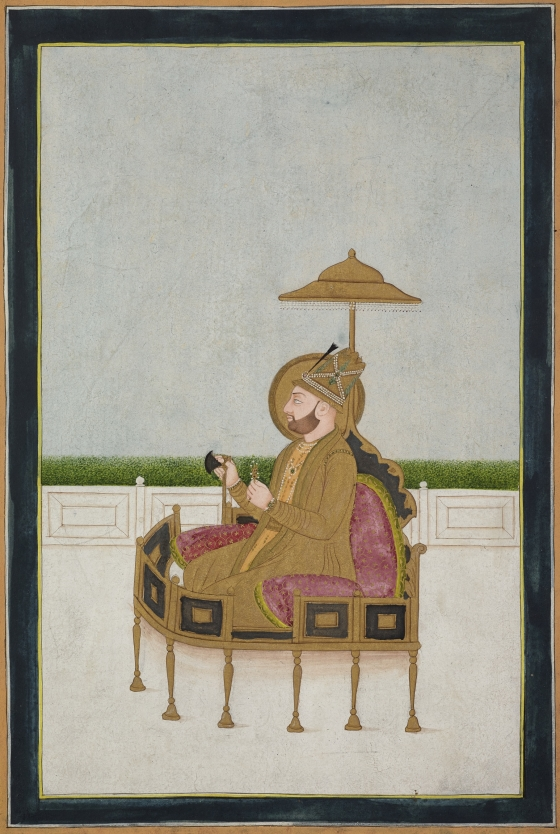 Portrait of Nadir Shah