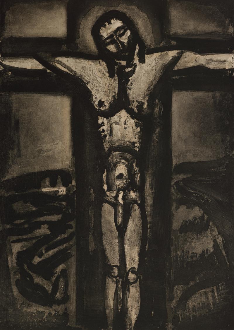 Sous un Jésus en Croix Oublié là; from Folio Miserere