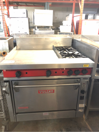 """Griddle 24"""" with Convection Oven"""