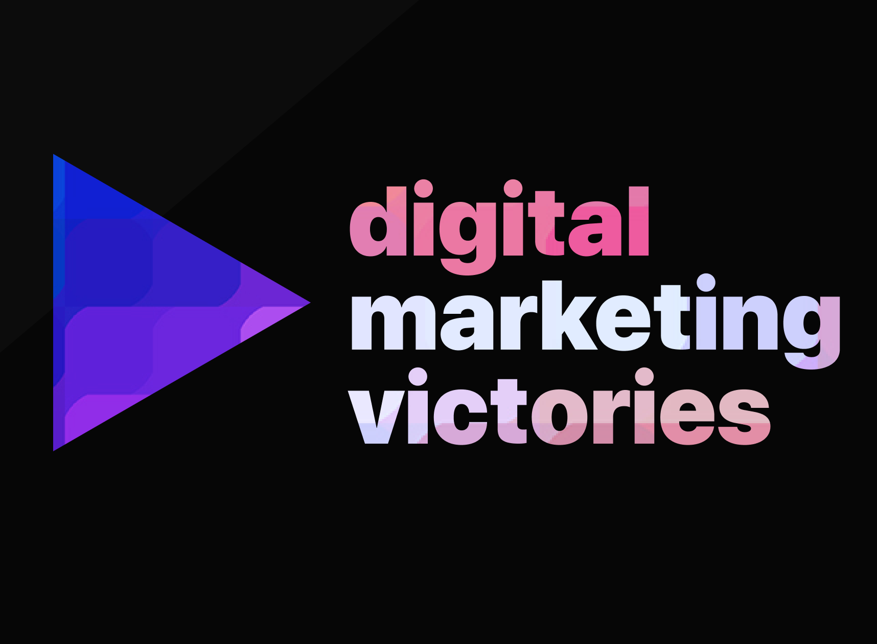 Digital Marketing Victories Podcast Logo