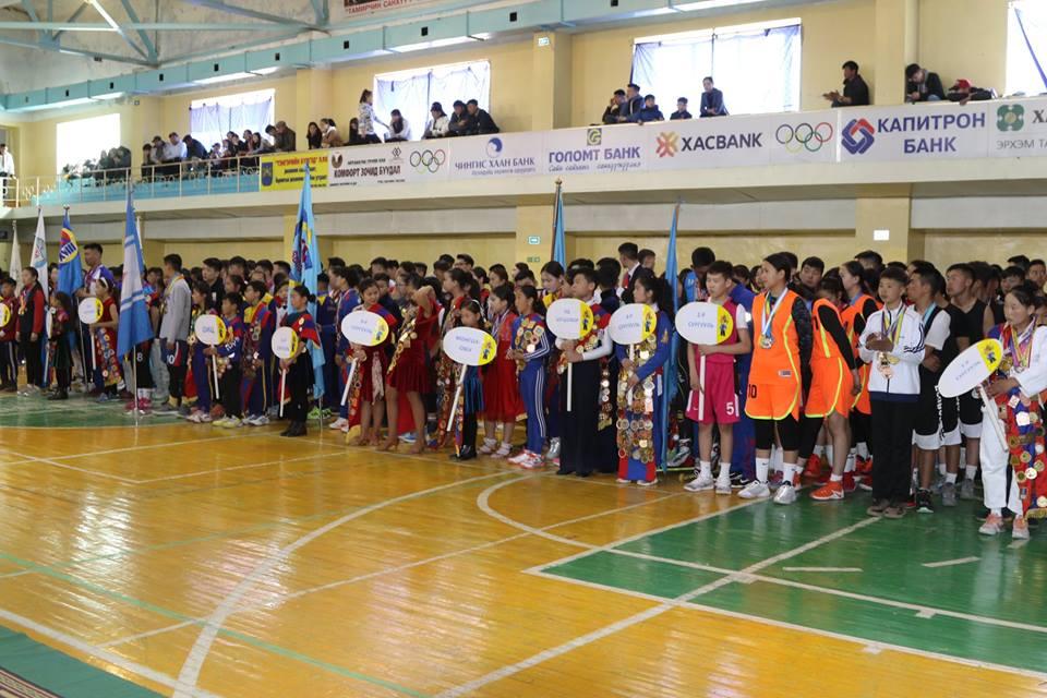 Монгол хүүхдийн спортын VI дугаар их наадмын нээлт Дархан хотноо боллоо