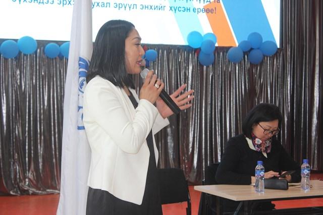 Аймгийн Эмэгтэйчүүдийн Холбоо Дархан сумын багуудад ажиллаж байна